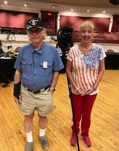 Bob and Gay Corey of Dracut, Dracut Access TV volunteers for 31 years