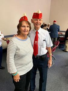 Vietnam veterans Susan LeBlanc of Chelmsford and J.B.Golas of Dracut