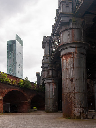 Castlefield railway viaducts