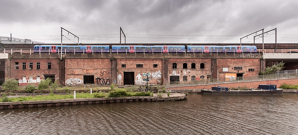 TransPennine Express on Castlefield Viaduct