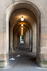 Arches of Manchester Town Hall Extension