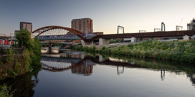 Ordsall Chord new railway in Manchester