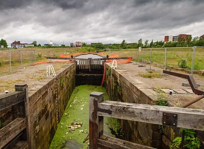 Middlewood Locks in Salford