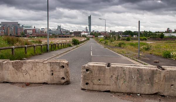 Derelict streets of Salford
