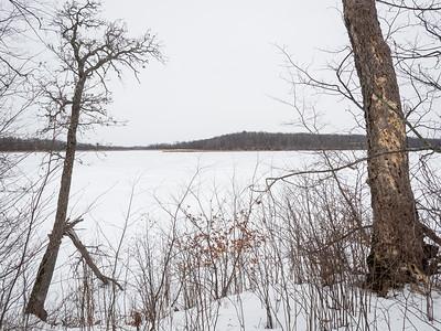 Mandy Lake, near the mounds.