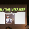"The 2019 Greater New England UFO Conference was held at Leomisnter City Hall on Friday and Saturday, Oct. 4 and 5. Jimmy Pentonito author at ""Phantom Messages"" was one of the speakers at the conference. SENTINEL & ENTERPRISE/JOHN LOVE"