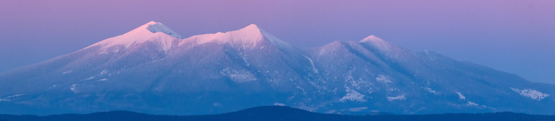 San Francisco Peaks form Mingus Man.