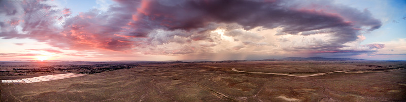 Chino Valley Aerial Pano