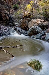 Gaddes Canyon Falls