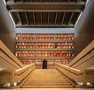 LBJ Presidential Library in Austin TX,