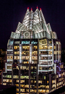 Frost Building at Night