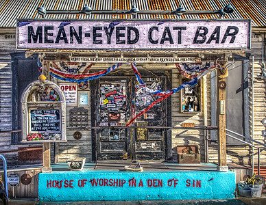 Mean-Eyed Cat Bar