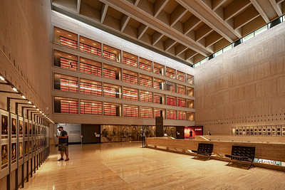 The LBJ Presidential Library.