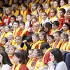 Students at Lourdes Regional High School were dressed in school spirit for their pep rally on Monday afternoon.