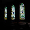 The side windows at Catawissa Avenue United Methodist Church.