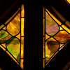 Detail on a window at Otterbein United Methodist Church.