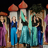 Robert Inglis/The Daily Item  Lourdes High School students rehearse for their production of Alladin Jr.