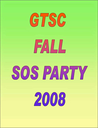 2008 GTSC Fall SOS Party