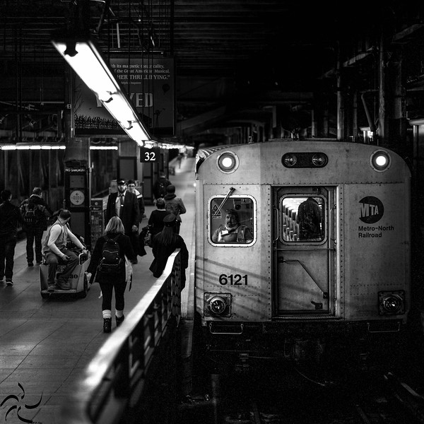 Subway driver - Grand Central - NY