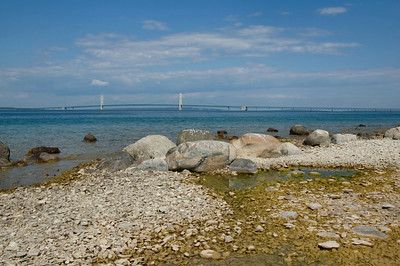 Mackinaw City | Mackinac Bridge | Emmet County           fall