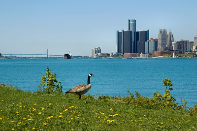 Detroit | View from Belle Isle | Wayne County         spring