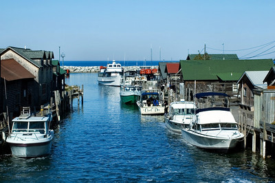 Leland | Historic Fishtown | Leelanau County          summer