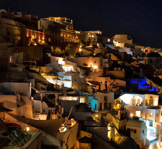 Oia, Santorini, Grece