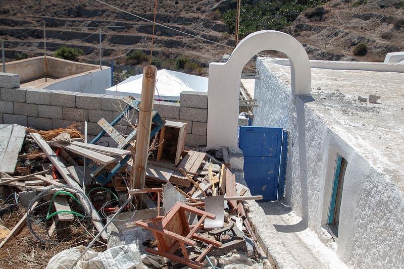 Akrotiri, Santorini, Grece