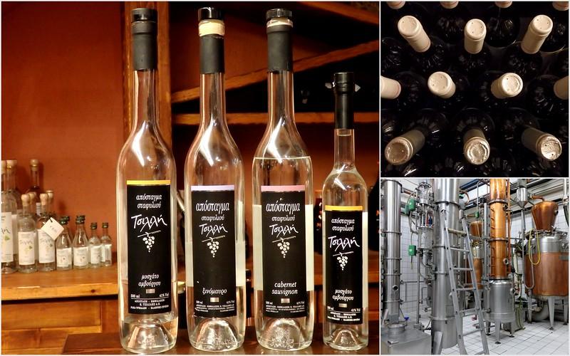 Touring the Tsilili Winery