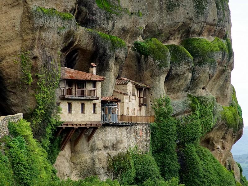 Ypapanti Monastery in Meteora