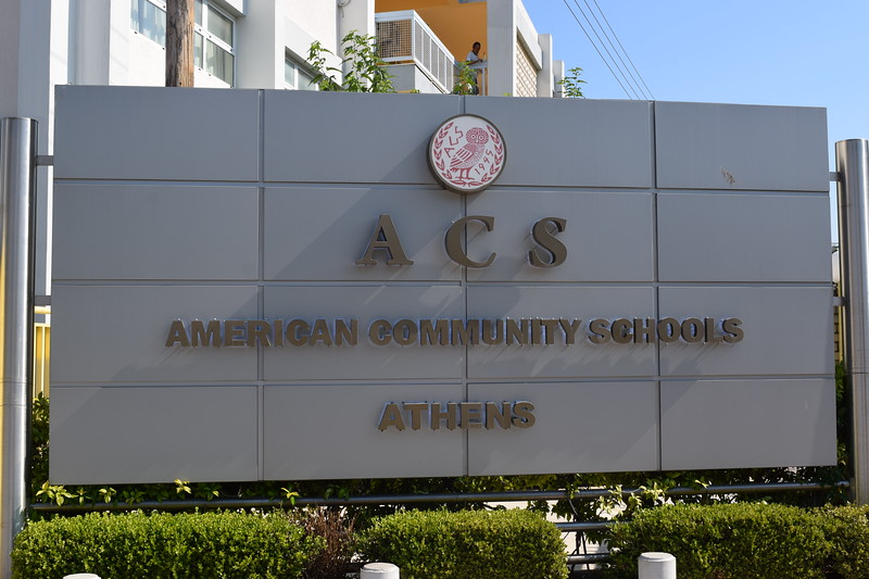 This is the school that we visited in Athens