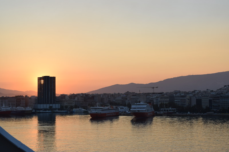 A look at Piraeus, the cruise terminal in Athens