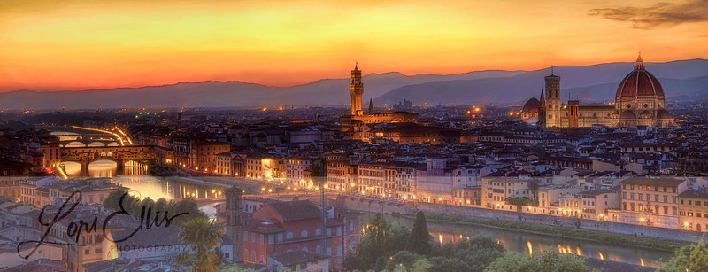 Night Falls on Florence