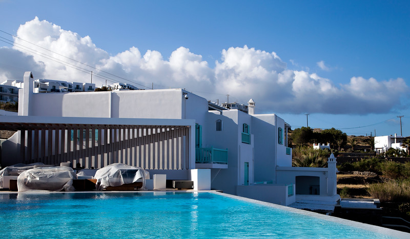 Our hotel: Bill & Coo Suites, Mykonos