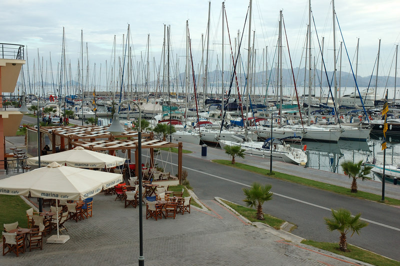 The marina where the Moorings keeps boats during the sailing season.  This is where we met Ionia, the 42' Jeanneau that became our home for the next 10 days.