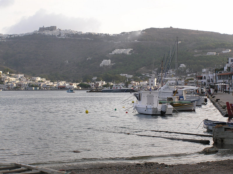 Marina and fishing boats