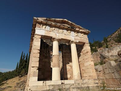 Apollo Temple, Greece