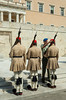Ceremonial changing of the guard at the national  parliament buildings of Greece in Athens, Greece.