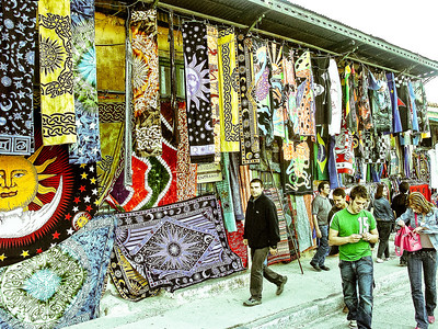 athens-shops-tapestries