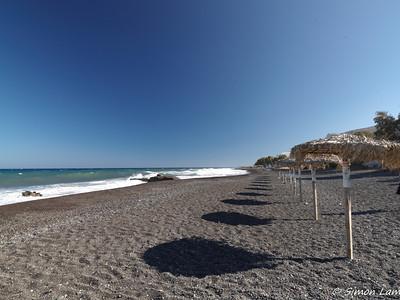Black Beach, Santorini, Greece