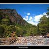 Samaria Gorge Crete start of the Walk from the White Mountains