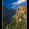 White Mountains at the head of Samaria Gorge