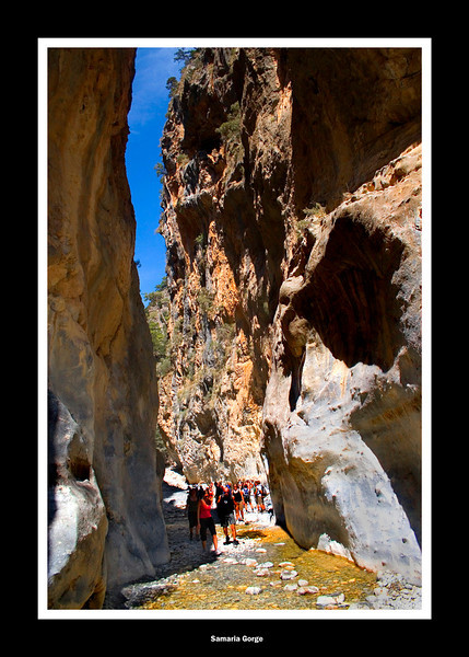 Samaria Gorge Crete, the Iron Gates