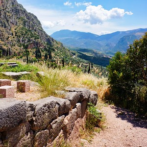 Delphi - View of the Valley