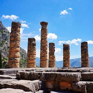 Delphi - The Temple of Apollo