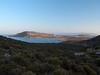 view direction Simos beach, Pleistocene raised beaches (terraces) can be seen on the left central hill<br /> Elafonisos, Greece<br /> <br /> Olympus E-420 & Zuiko 12-60/2.8-4.0
