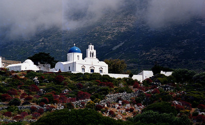 Amorgos, the monastery Panayia Epanohoriani