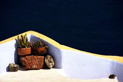Santorini, still life