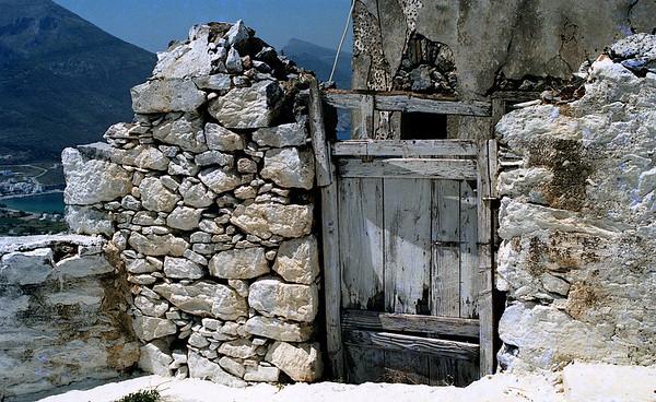 old door, Amorgos