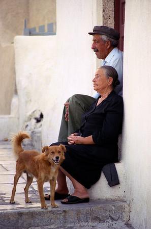 in perfect harmony, Santorini